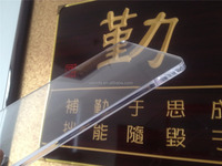 1800*1050mm cast transparent acrylic for basketball backboard.