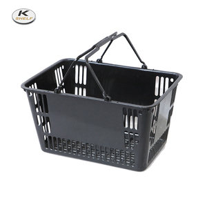 Mini Folding Plastic Shopping Baskets, Collapsible Shopping Basket