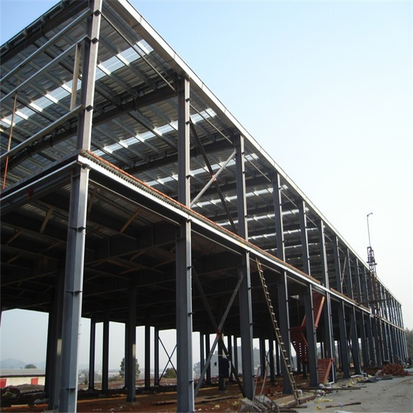 Sandwich Panel Prefabricated Modular Small Warehouse Workshop For Sale
