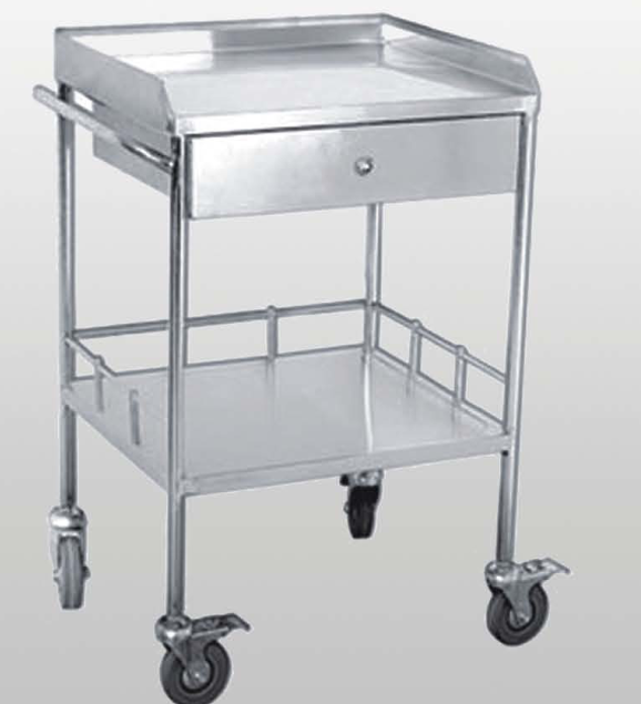 Hengshui YONGXING Hospital Dolly Trolly with Double Flat Plate Price