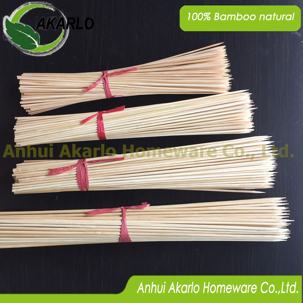 disposable bamboo skewers BBQ sticks