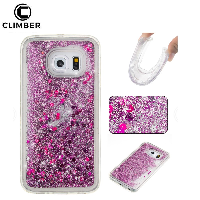 Bling Liquid Glitter Mobile Phone PC Cover Case For Sony Xperia Ultra Z3 M4 M5 Xa Dual F3113