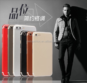 Super slim fully protective leather sticker for iphone 7, for iphone 7 pu leather skin cover sticker