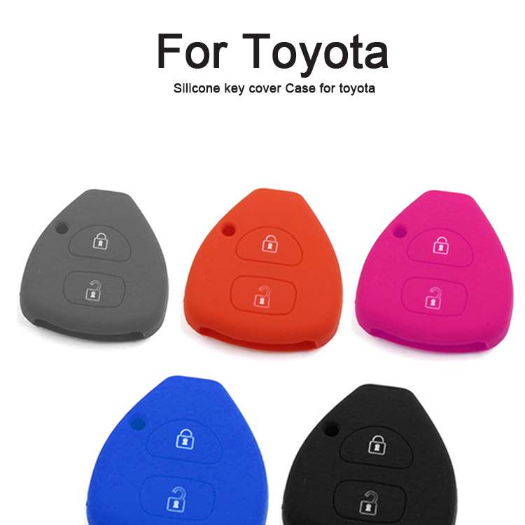 AS063008 Silicone key cover Case for toyota