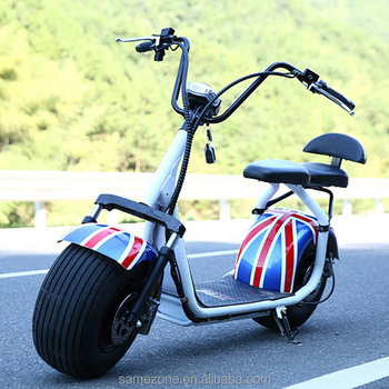 Fat tire halley electric scooter with front and tail for Where can i buy a motor scooter