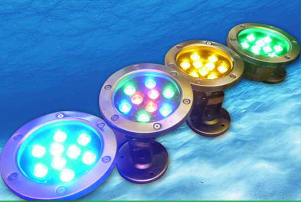 Full Color Change Led Fountain Light Underwater Rope Light ...