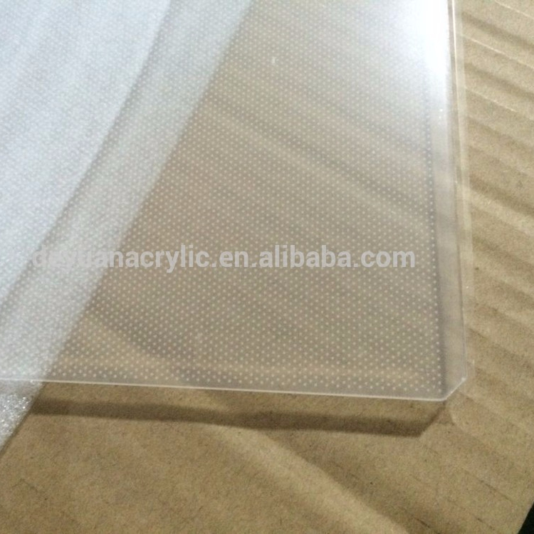 acrylic laser engraving light guide panel/acrylic led panel light wholesale