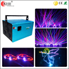 Red green bule 10w used stage lighting night club laser light show equipment for sale lighting price