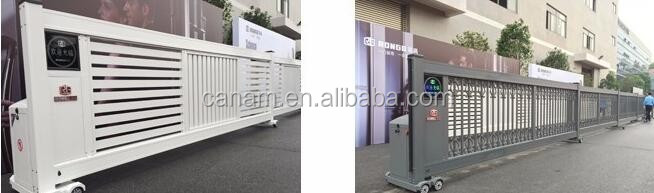 Intelligent Suspended Aluminum Sliding Gate Manufacturer