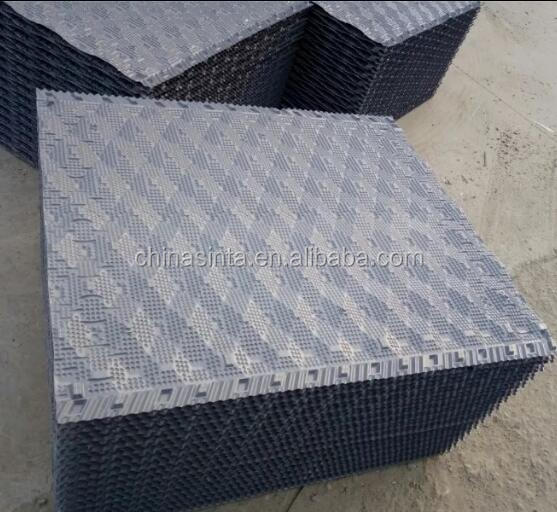 1000*1000mm Heat Dissipation cooling tower pvc infilll