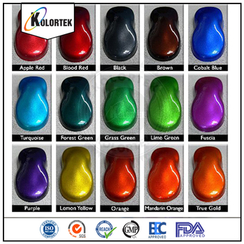 Auto Paint Pigment Powder