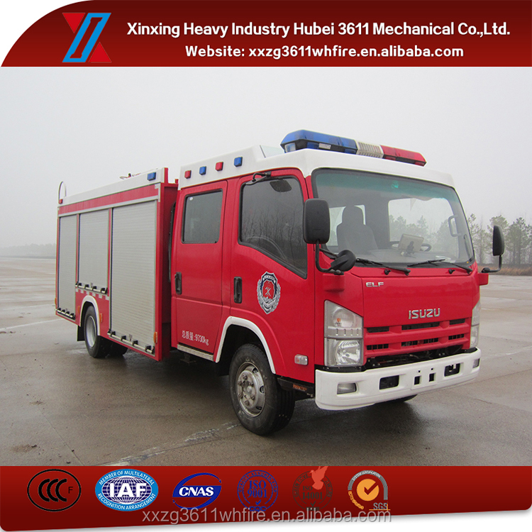 Top Selling Emergency Rescue Emergency Rescue 3.5t Low Price Fire Truck Water Tanker