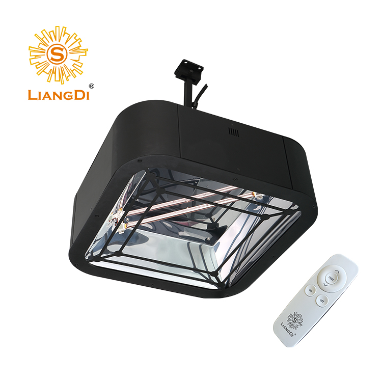 LiangDi New Luxurious Hanging Infrared Patio Heater Radiator For Heating