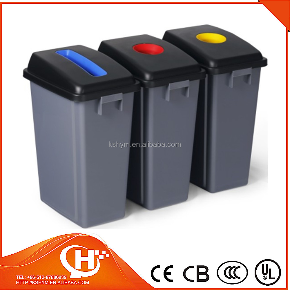 60L waste classification outdoor ash bin