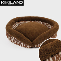 Gray burger bun pet cat bed luxury bed for dog
