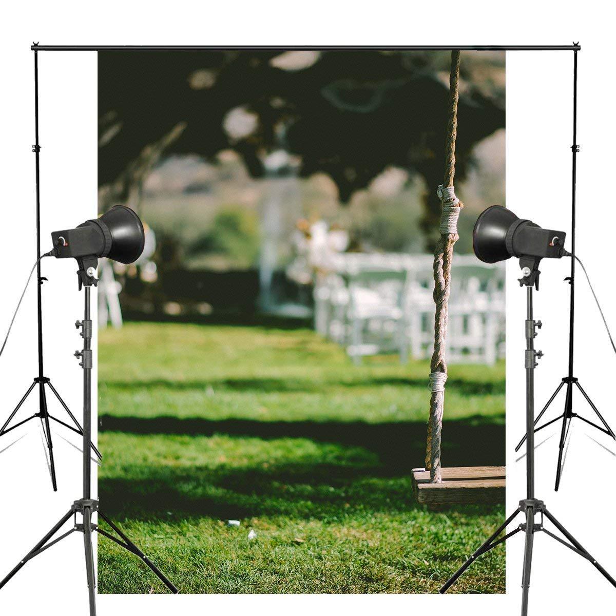 ERTIANANG 5x7ft Swing Backdrop Photography Background Wall Mural Studio Props Wall Photography Backdrop