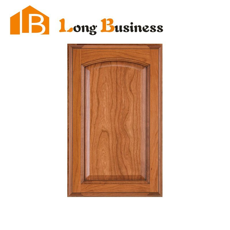 LB-DD1095 American style cherry wood raised door panel for kitchen cabinet