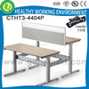 height adjustable desk for 2 people with very competitive price