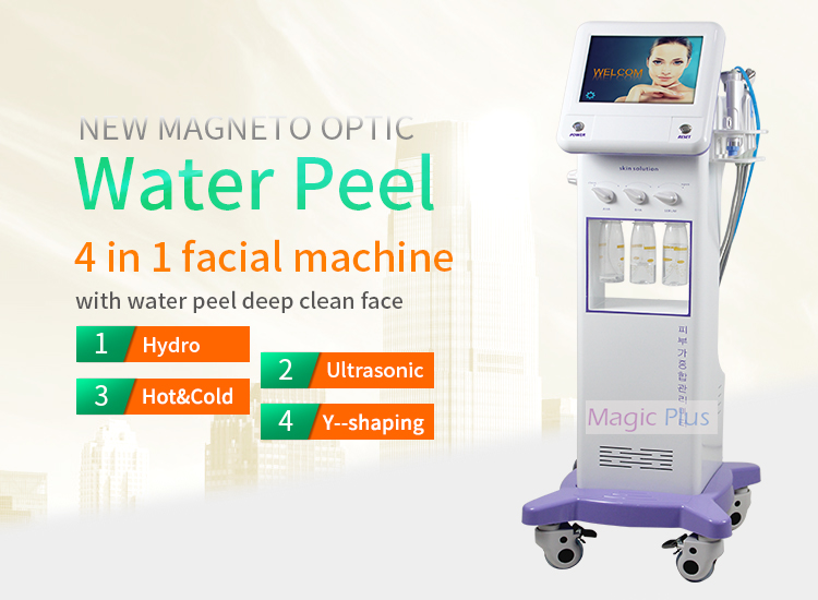 Newest 5 in 1 Hydra Aqua Peeling Microdermabrasion Facial Machine 2017