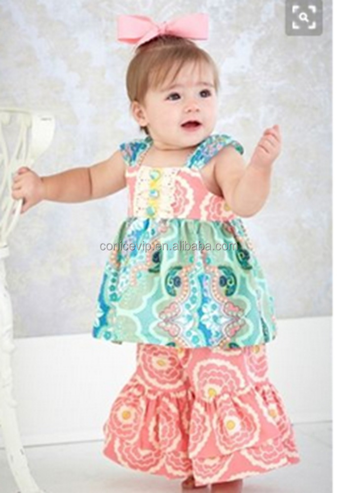 Wholesale Children Summer Sleeveless Clothing Suppliers For Boutiques