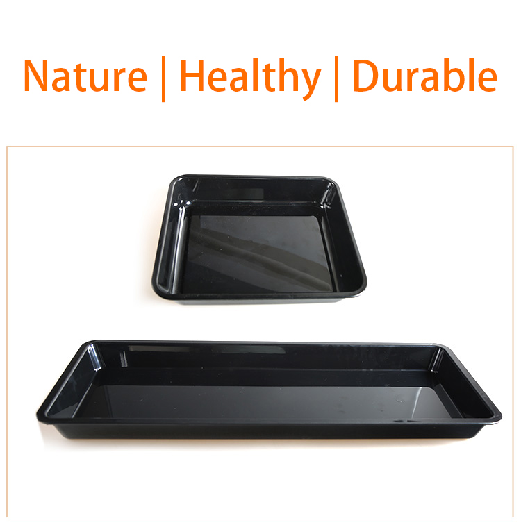 2018 Trade assurance plastic fast food tray 100% melamine food serving tray cheap plastic tray for sale