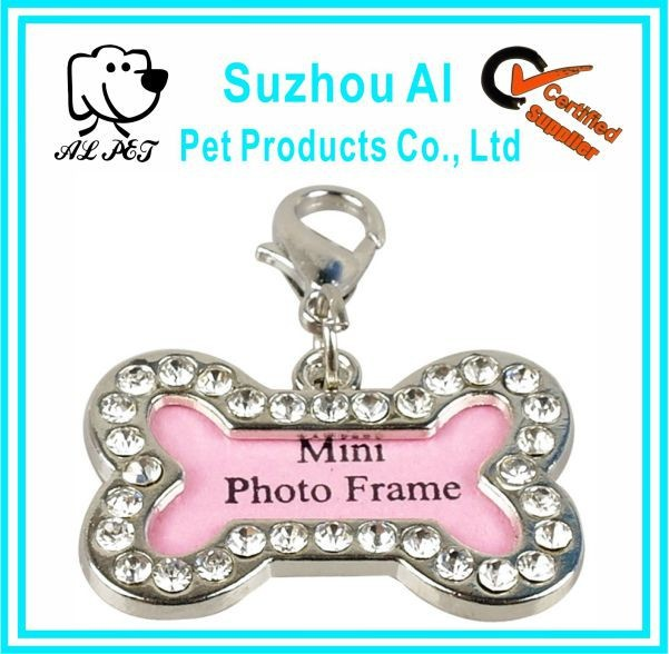 Pet ID Tags Crystal Personalized Puppy Pet Cat Dog Tag