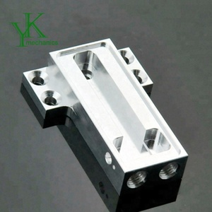 Aluminium cnc machined parts, cnc milling and drilling work