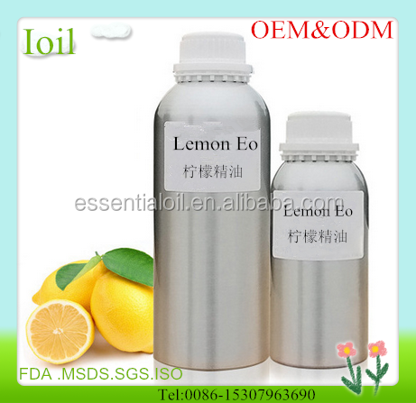 100% Pure Natural Australian Certified Organic Lemon essential oil Wholesale For blood circulation Improve