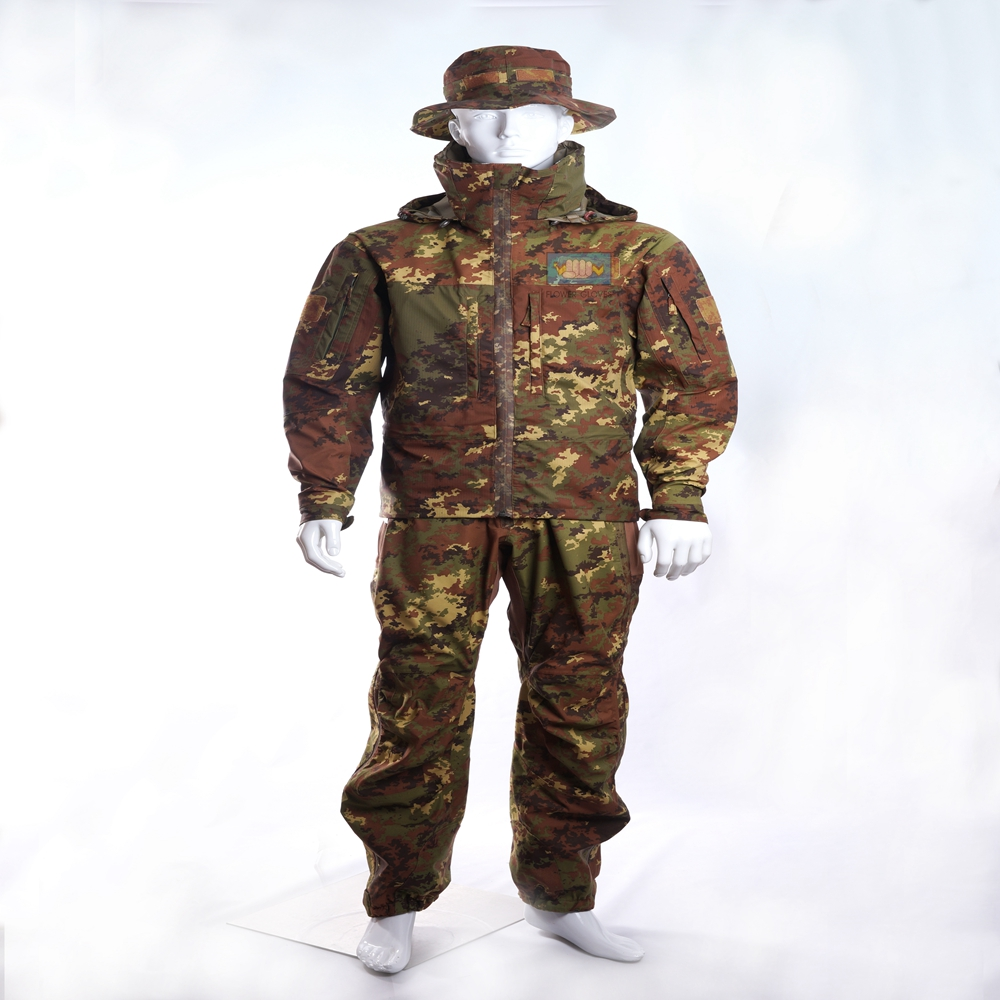 high performance waterproof military clothing