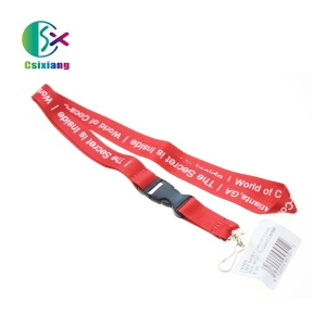 Best Quality Neck Strap Heat Transfer Printing Lanyard with Logo Custom No MOQ