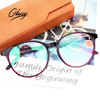 Glazzy TR90 material frame AC lens OEM reading glasses women low moq