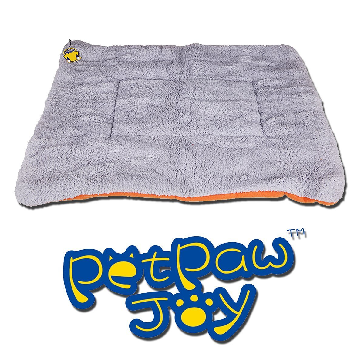 Dogs Blanket, PETPAWJOY Crate Pad Cat Bed Dog Crate Cushions Pad Washable Filling Pads Soft Furry Pet Bed Mat 33x31,30x26,26x23 inch