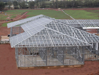 Prefabricated metal roof trusses manufacturer buy metal for Prefabricated truss