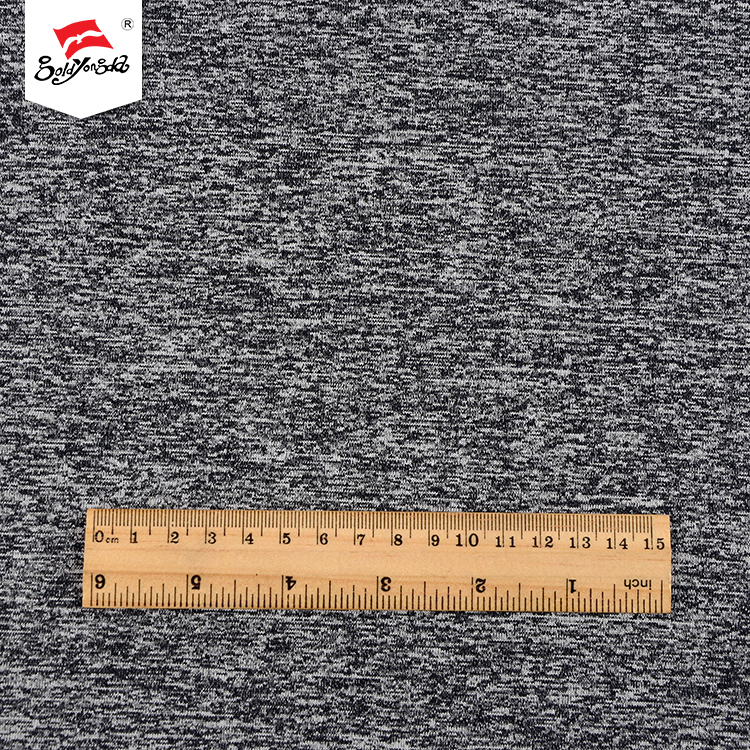 New arrival fashion soft custom polyester yarn dyed cotton knit fabric jersey