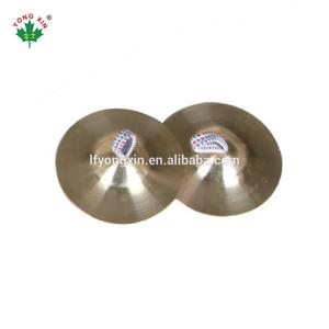 Hot Selling Percussion musical instruments mute Copper b8 Cymbal pack pair for baby