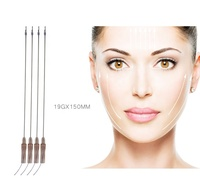 High quality injectable PDO thread face lift mesotherapy needle 30g x 4mm
