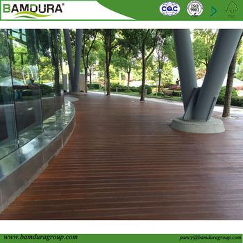 18 5mm Dicke Aussen Vertikal Laminierte Bambus Decking Mit 2 Nuten