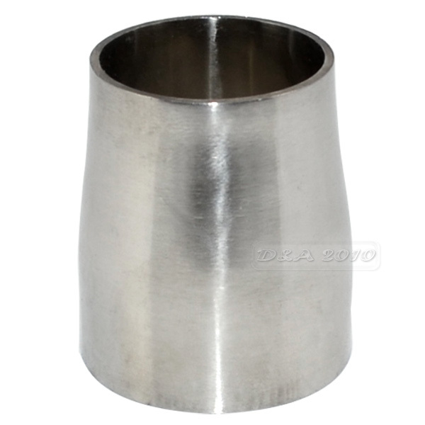 "High Quality38MM to 32MM 1.5""to1.25"" Sanitary Weld Reducer Pipe Fittings Stainless Steel SS316"