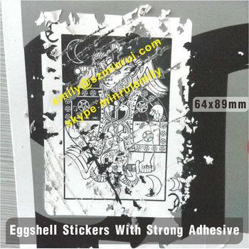 Eggshell Sticker On Sheets Graffiti Art Screen Printing