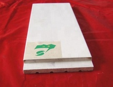 Decorative White Primed Radiata Pine/ China Fir Flat Door Jamb