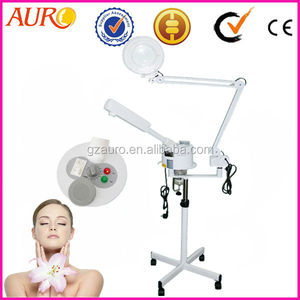 (Au-900E) 2IN1 Ozone Vaporizer/Magnifying lamp/facial steamer with stand