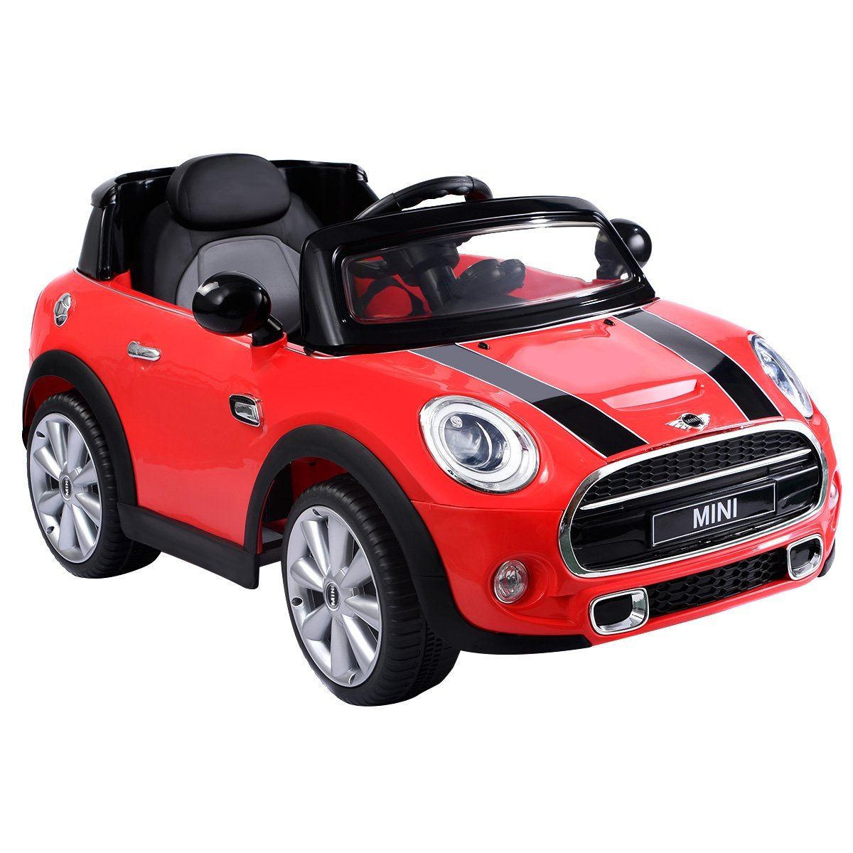 Buy Costzon Red BMW Mini Cooper 12V Electric Kids Ride On
