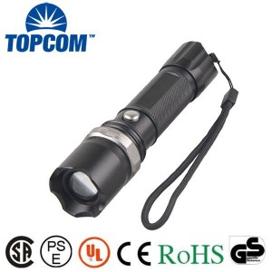 TP-1801 OEM Custom 300lm XPE LED Tactical Flashlight