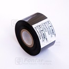 Width 35mm Black color Automatic Desktop Date Code Printing Foil Hot stamping foil jumbo roll SCF-900 and FC2 For Coding