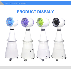Larger Capacity Outdoor Electric Water Mist Fan with CE and SASO Certificate