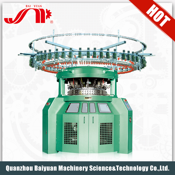 Brand New Computerized High Speed Seamless Double Weaving Machinery Flat Knitting Price Of Circular Knitting Machine