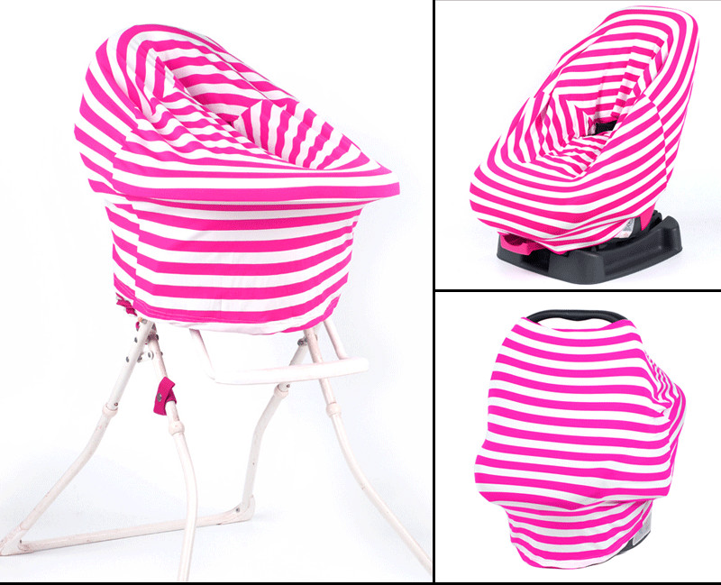 wholesale stripe summer infinity multifunction nursing breastfeeding cover scarf