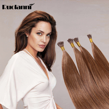 I Tip 100% Virgin Indian Remy Hair Extensions Human Hair Grade 7a