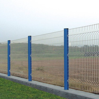 Quick Install White Pvc Coated Welded Wire Mesh Fence Panel - Buy ...