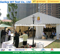 Cheap wedding party tent material, aluminium leisure outdoor tent for reception